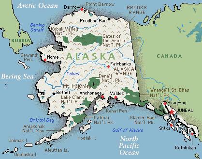 Аляска - Русская Америка